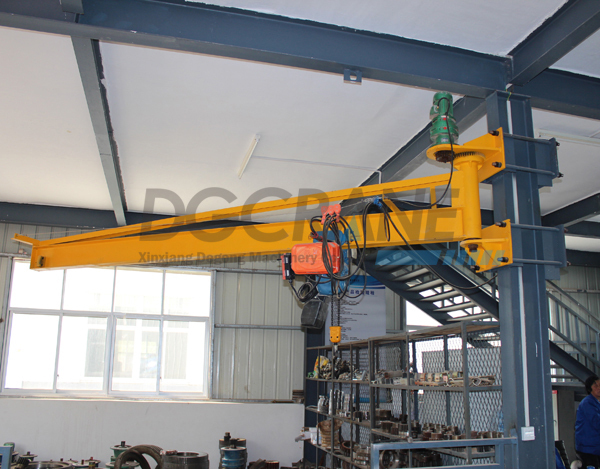 Fixed Column Slewing Jib Crane