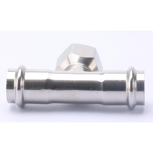 Stainless Steel Female Tee Pipe Press Fitting