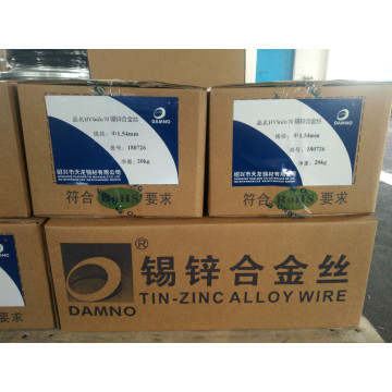 Tin Zinc alloy wire SnZn