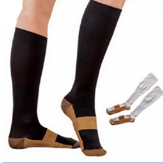 Padded white ankle socks protector guard strap