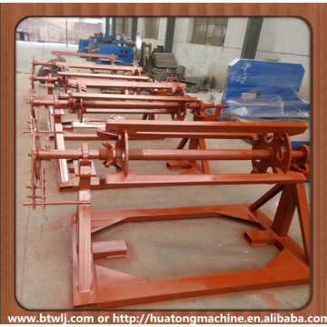 Color steel coil decoiler