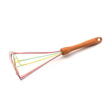 Flybloom Wooden Handle Whisk