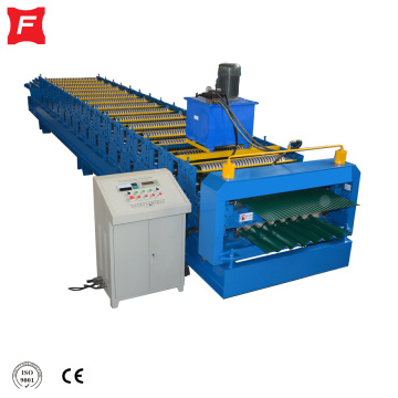 Roof Tile Double Layer circular arc Machine