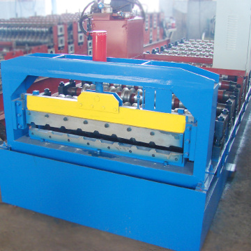 Super quality customized length roof sheeting machine