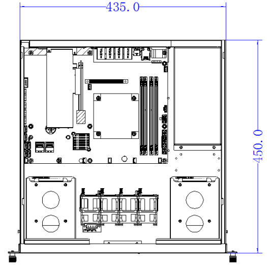 Graphics server chassis design