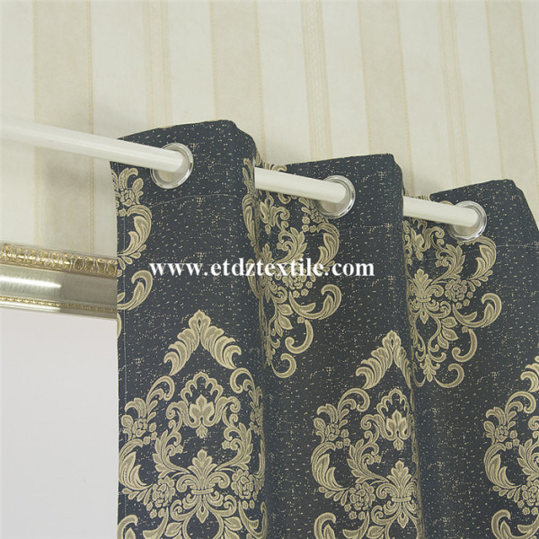 Gromments 100% Polyester Window Curtain
