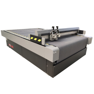 Auto feeding digital oscillatory knife cutting machine