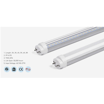 Dimmable Aluminum 6000K 3ft LED Tube Light