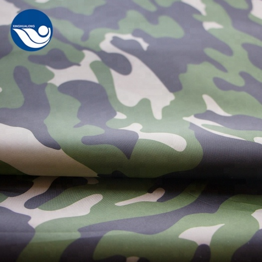 Digital Camo 190t Taffeta Printed Fabric