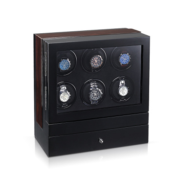 Six Rotors Watch Winder With Drawer