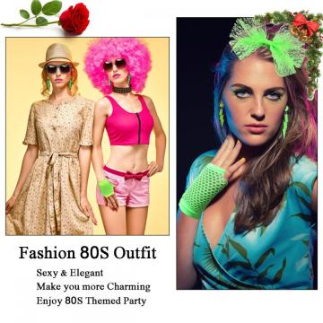 80s Outfit - Womens 80s Bulk Accessories Set