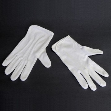 Large Gloves for Cosmetic Moisturizing and Coin Inspection