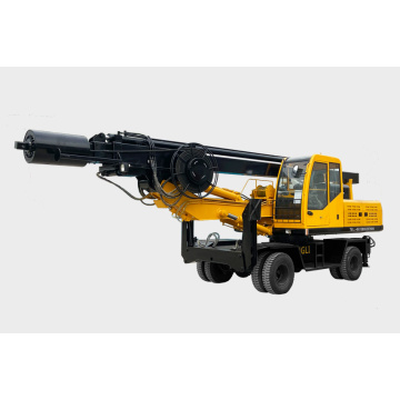 Four-wheel rotary drilling rig DL-360