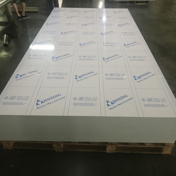 100% virgin Polypropylene PP Sheets