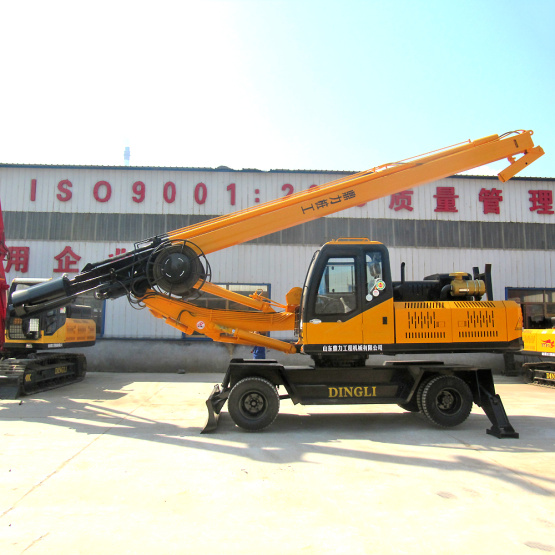 Dingli manufactures high-quality mining rotary drilling rigs