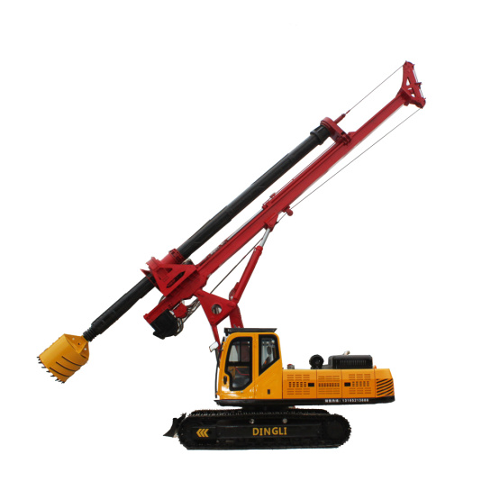 Hydraulic Building foundation pile driving  rig price