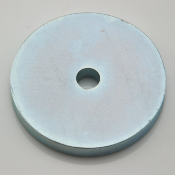 N35 permanent rare earth ndfeb ring magnet
