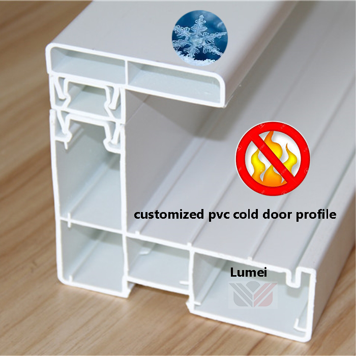 pvc profile cold doors