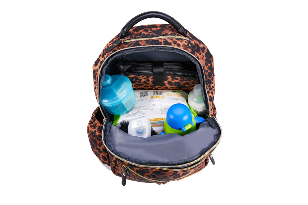 Diaper Bag With Insulated Compartment