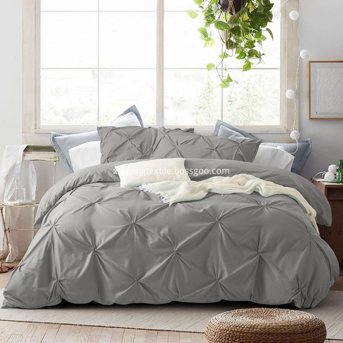 pull flower duvet cover