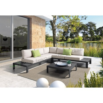 Leisure casual aluminum patio furniture sofa