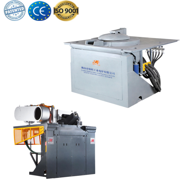Automatic scrap steel melting induction furnace for industry