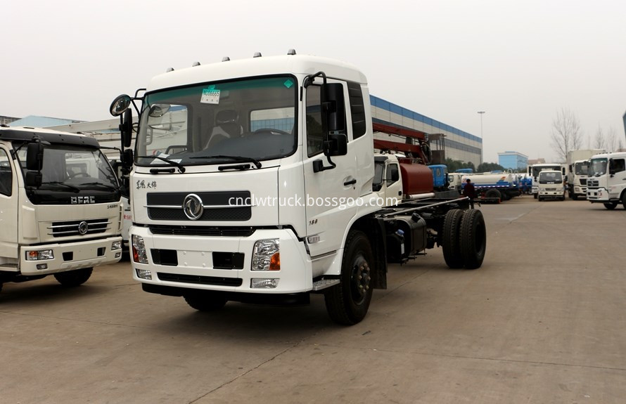 water spray truck  chassis 1