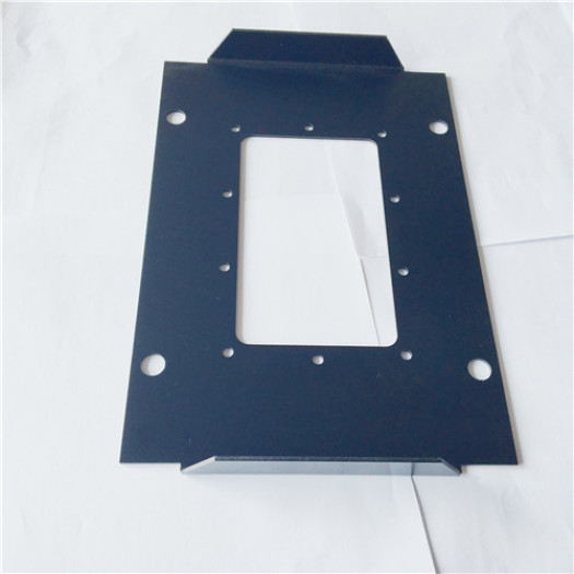 Laser cutting aluminum plate sheet metal cover