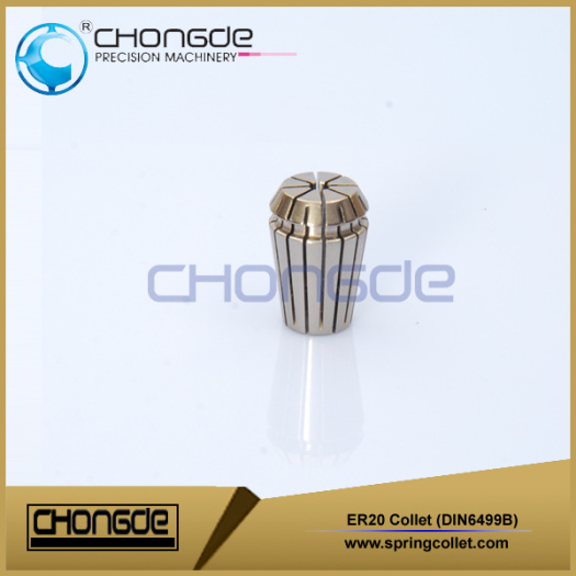 ER20 clamping spring collet for BT40 collet chuck