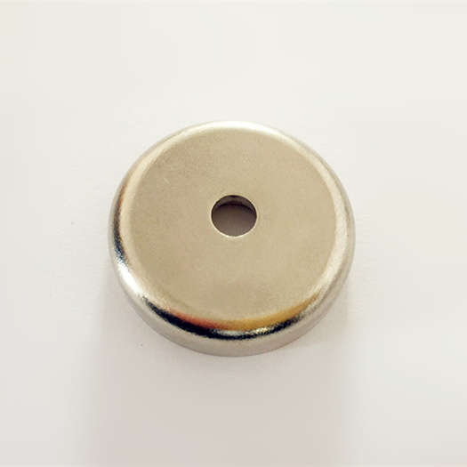 Ndfeb Neodymium pot magnets with through hole