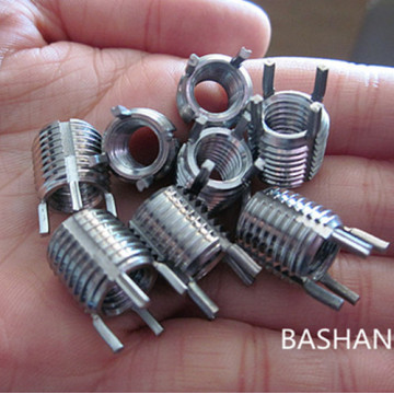 Stainless steel  furniture thread inserts nuts m6