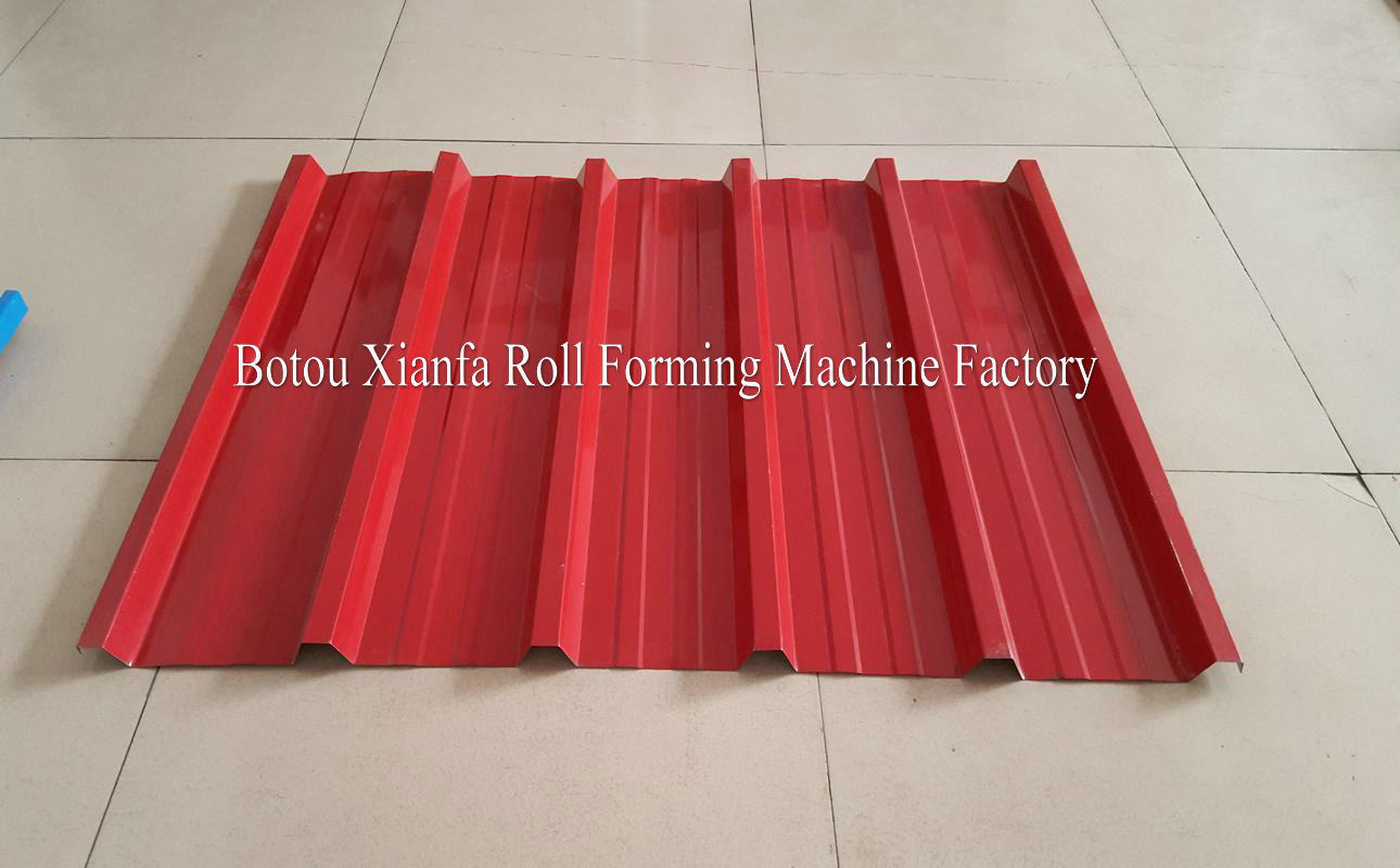 roof making machine