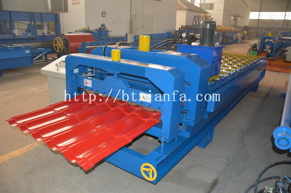 tile making machine 3