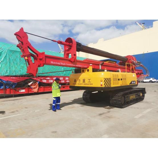20m depth crawler water well drilling rig price