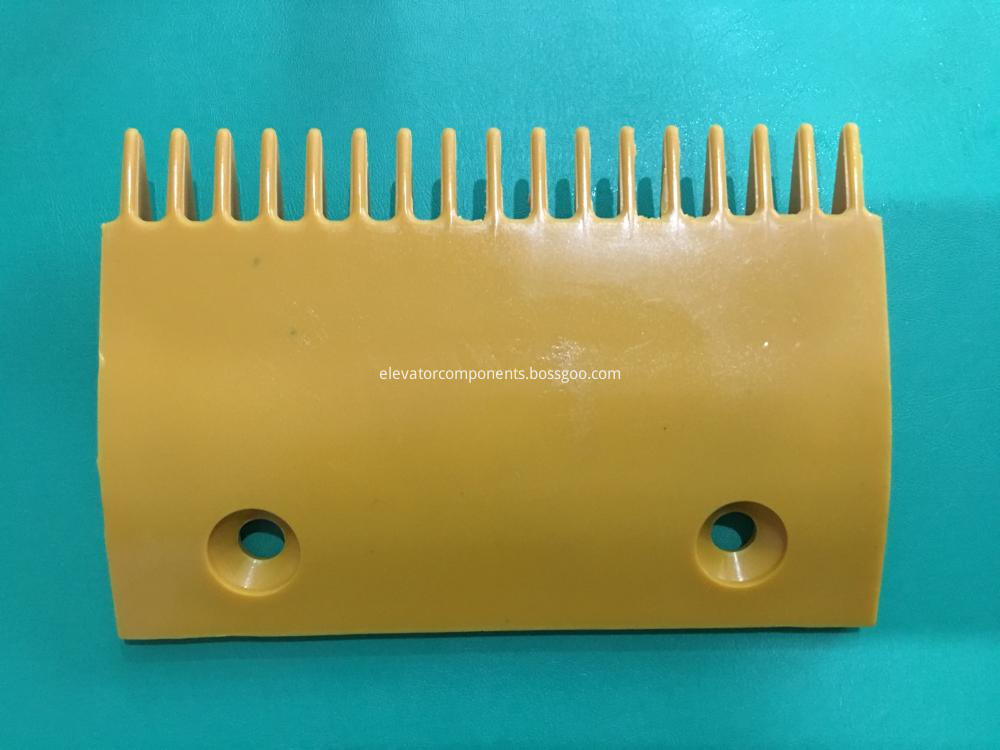 Middle Yellow Plastic Comb for Sigma Escalators