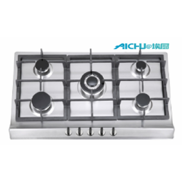 Built-in 5 Burners Gas Cooker