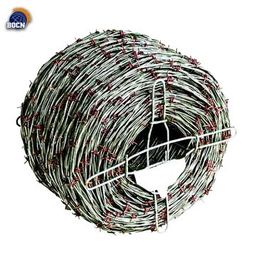400m hot dip galvanized barbed wire