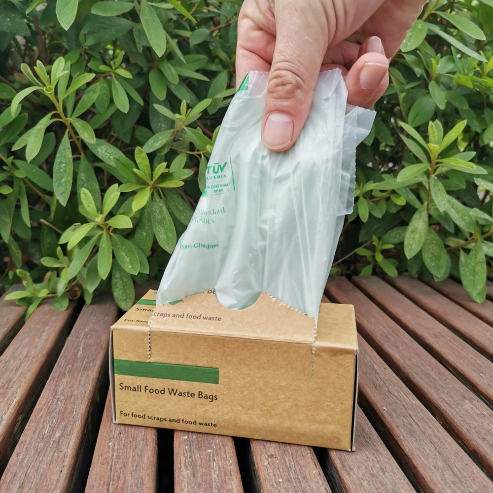 Compostable Bioplastic Kitchen Garbage Bags