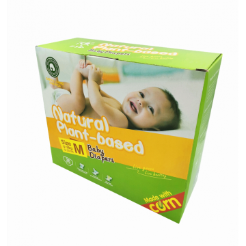 100% Biodegradable Natural Plant-based Baby Diapers