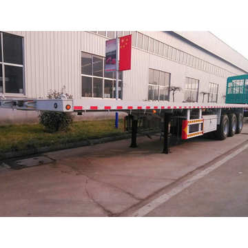 3 Axle 60T Flat Bed Trailer