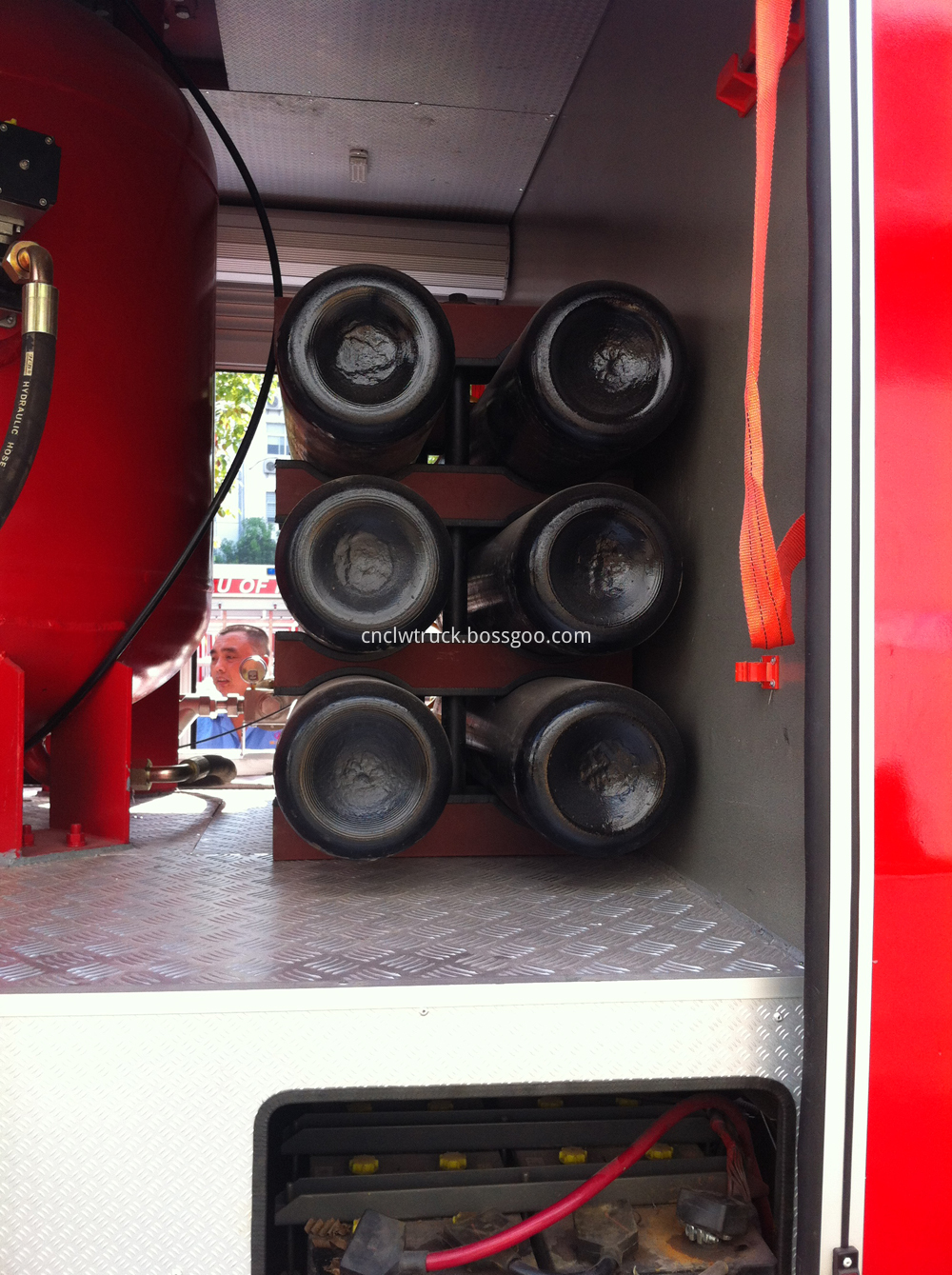 powder fire fighting truck details 1