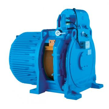 Gearless Permanent Magnet / Elevator Traction Machine 4000kg 3.0m/s WTYF380