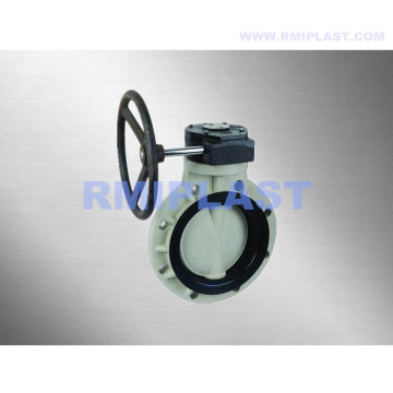 PP Wafer Butterfly Valve PN10
