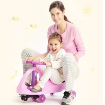 Kids Toy Riding Swivel Car With Music