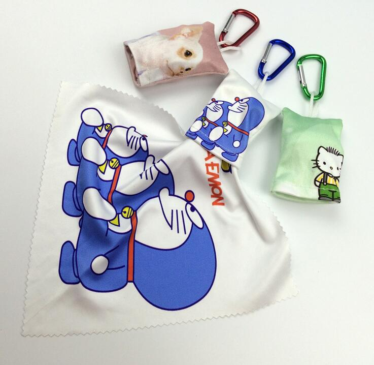 Keychain Cloth In Digital Transfer Printing