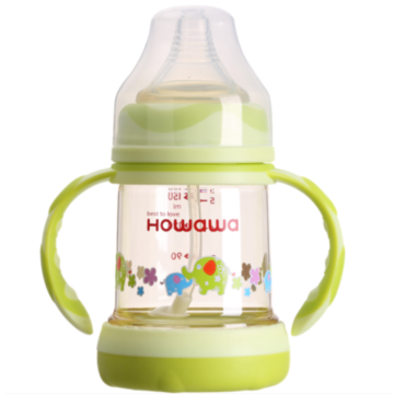 Anti-Colic Baby PPSU Milk Feeding Bottle With Handle
