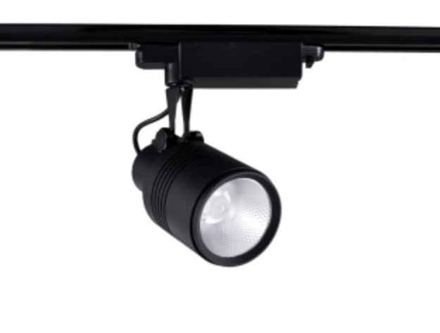 Black Beamshift 20W  LED Track Light