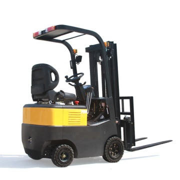 750kg 4 wheels electric forklift truck