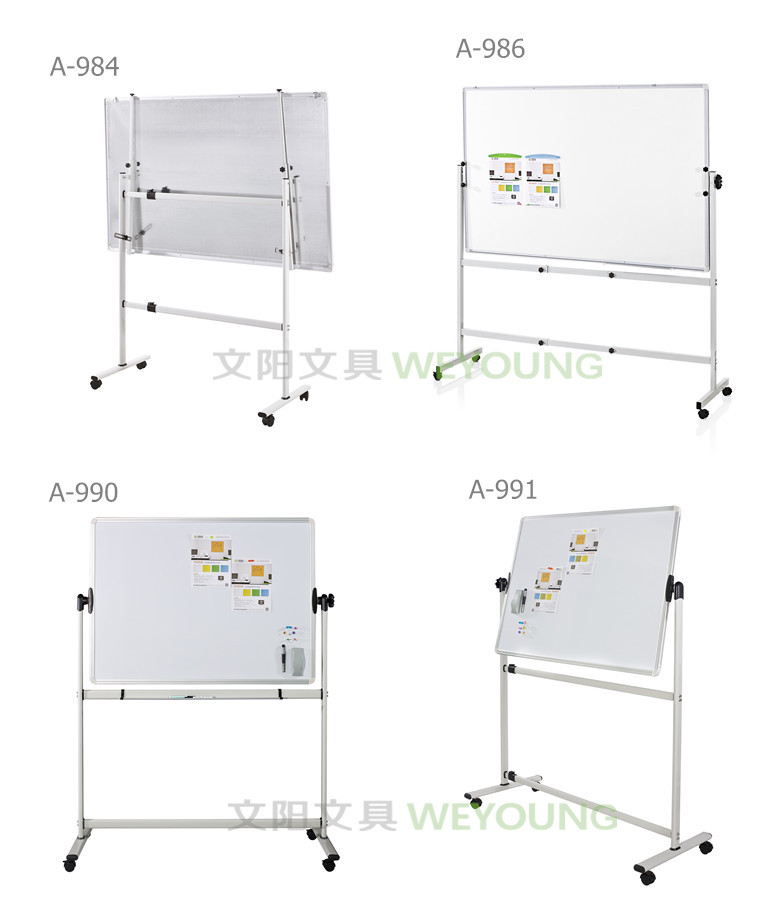 Double Sides Magnetic Whiteboard