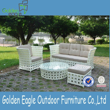 Aluminum Garden Sofa Furniture with Sunbrella Fabric